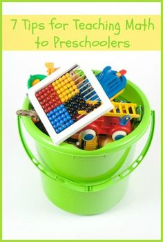 7 Tips for Teaching Math to Preschoolers
