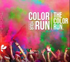 Color run cant wait!!! A run with my girls and our sons!! It is going to be such a great day!!