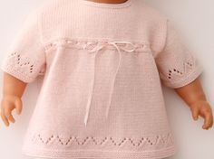 Ravelry: 10 / Lace Baby Tunic pattern by Florence Merlin