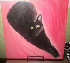 Black cat custom order