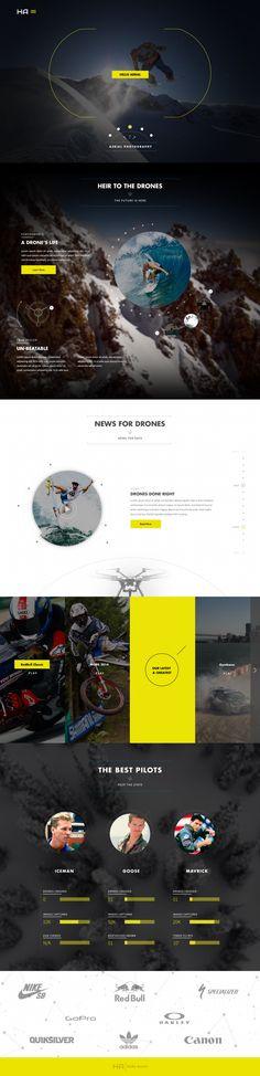 Aerial #ResponsiveDesign #Web #UI #UX #WordPress #Resposive Design #Website #Graphics