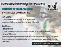 Bfa Entrance Exam (Bachelor of Fine Arts) BHU Banaras Hindu University Varanasi Object Drawing, Top Colleges, Record Holder, Bachelor Of Fine Arts, Entrance Exam, Varanasi, World Records, Coaching