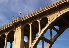 pasadena bridge | colorado street bridge in pasadena, ca