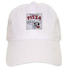 Futurama Pizza Baseball Cap on CafePress.com
