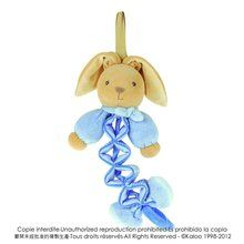 Kaloo Zig Music Rabbit, Blue. Available at OurPamperedHome.com