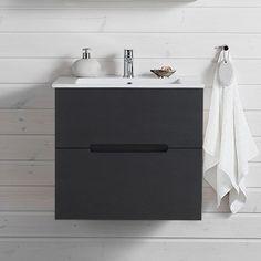 Tvättställsskåp Hafa Sun Svart Ekstruktur 1551210H Vanity, Sun, Bathroom, Painted Makeup Vanity, Washroom, Lowboy, Dressing Tables, Bath Room, Bathrooms