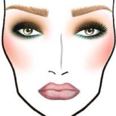 Mac face charts .. I think this is a nice face chart to get some visual reference for a starting out make up artist.