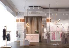 Дизайн магазина женской одежды в Киеве. #дизайн_магазина #магазин_женской_одежды #store_design