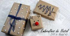 Embrulhos de Natal - DIY de Natal #2