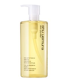 Shu Uemura - high performance balancing cleansing oil advanced formula.  Who knew an oil could do such a great job and leave your skin feeling so clean!