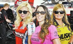 Three for the road: Women with diverse personalities help power NHRA.........Courtney Force, Alexis DeJoria and Erica Enders-Stevens