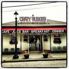 Crazy Burger Cafe & Juice Bar in Narragansett, RI