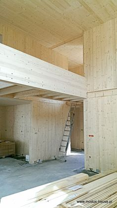 Single family house 130 sqm CLT-Cross Laminated Timber Designed and built by www.modus-house.pl
