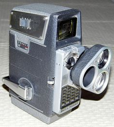 Vintage Bell & Howell 8mm Movie Camera With Electric Eye.