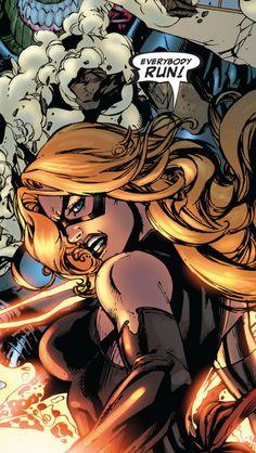 Carol Danvers-Skrull battle