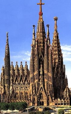 Ohhh gaudi be killin em. Sangrada famila another place I've been blessed to see