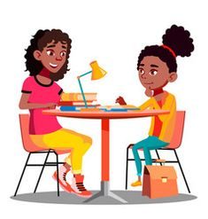 Afro American Mother Helps Child Do School Homework Vector. Reading Resources, Reading Strategies, Reading Conference, Favorite Questions, Mother Images, Reading Specialist, Single Image, Mother And Child, Online Marketing