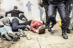 Demonstrieren darf nur, wer Erdogan unterstützt