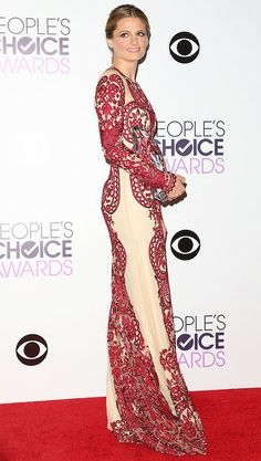 Stana Katic in Naeem Khan - People's Choice Awards 2014