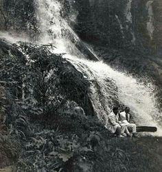 Asahan waterval, ca. 1935