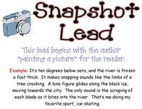 Writing Leads - PowerPoint PPT Presentation