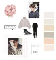 """""""Winter Chill Night w/ Mark"""" by seoul-to-soul ❤ liked on Polyvore featuring Tabula Rasa, Topshop and Ash"""