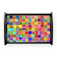 Color Mosaic Coffee Tray