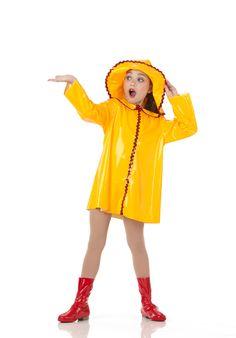 April Showers Raincoat Hat Boot Covers Dance Costume Singing in The Rain | eBay
