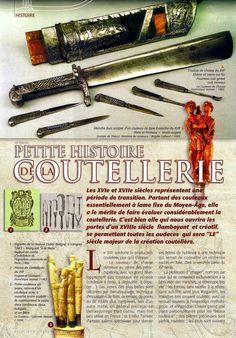Le Couteau - 3* Les XVIème & XVIIème siècles **