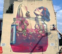 Etam Cru mural in Richmond, USA