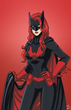 Batwoman commission by phil-cho.deviantart.com on @DeviantArt