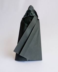 origami Darth Vader tutorial … – Origami World Star Wars Origami, Origami Star Box, Origami And Kirigami, Origami Paper Art, Oragami, Origami Folding, Paper Folding, Origami Instructions, Star Wars Party