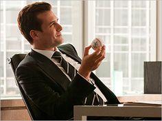 Harvey, on Suits.. (Gabriel Macht)