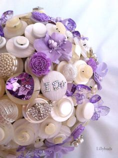 If we ever redo our rows I want a button bouquet!