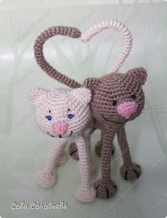 """Spielzeug, Handwerk, Häkeln Artikel: """"Ein weiterer Cat"""": Beschreibung ..  Photo 5"""