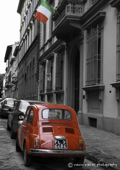 Fiat 500. Rome by Nevin Xavier on 500px