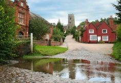 Is this Suffolk's prettiest walk? With its chocolate box looks, the picturesque village of Kersey is the perfect starting place for a walk to remember, says Cyril Francis Suffolk England, Norwich Norfolk, Great Yarmouth, Walk To Remember, Bury St Edmunds, River House, Live In The Now, Beautiful Landscapes, Countryside
