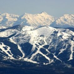 Big Mountain, Montana  (They changed the name to Whitefish Mountain but it will always be Big Mt. to me!)