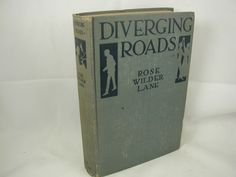 Diverging Roads is the autobiographical novel Rose published in 1919, before she headed to Europe. Lots of insight into Rose's understanding of herself in her early 30s, at the end of the first phase of her professional life.