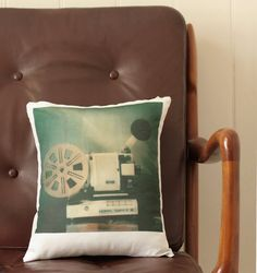 Made from one of her own Polaroid prints, Amanda Mason makes the hippest cushions around...!