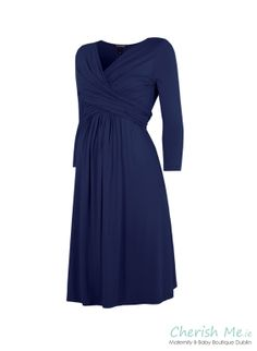 Isabella Oliver Emily maternity dress - French navy