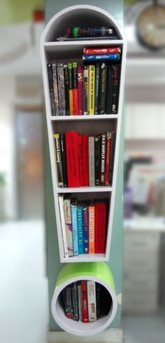 As good as it gets! What do you guys think of our swanky new bookshelf? #Design #Furniture #InteriorDesign
