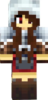 minecraft skins for girls | DJ girl brown hair | Minecraft ...