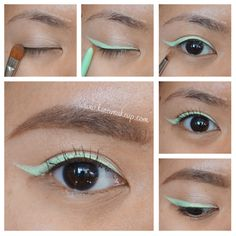 Summer Makeup - Mint