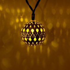 Moroccan Silver metal Globe Outdoor String Lights for Christmas Wedding Party Garden Lawn Patio Decoration LED Warm White) Christmas String Lights, Solar String Lights, String Lights Outdoor, Christmas Bulbs, Christmas Wedding, Fairy Lights, Merry, Party Garden, Ceiling Lights