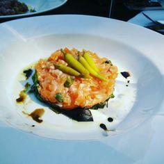 Tartar de salmón, fuera de carta