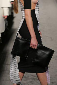 Accademia di Costume e di Moda Talents 2014 Giulia Goretti De'Flamini   WEISS #fashion #womenswear #white #leather #bags