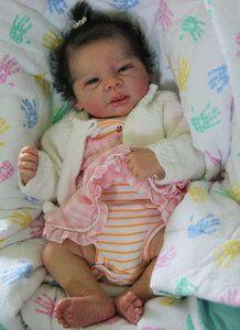 INCREDABABIES reborn baby girl doll Michelle by Evelina Wosnjuk newborn