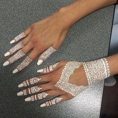 Beautiful White Henna More