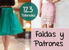 Faldas 123 DIYS Tutoriales Con Patrones - enrHedando